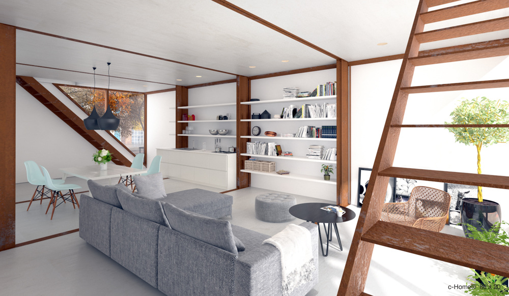 c-Home® - LOT-EK Architecture & Design