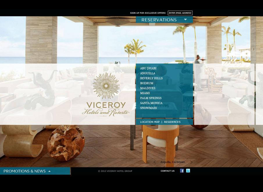 Viceroy hotel group emily albuquerque design portfolio for Design hotel chain